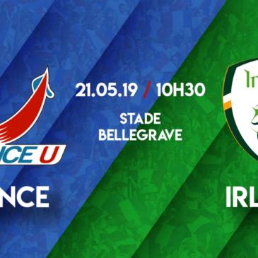 France U – Irlande U