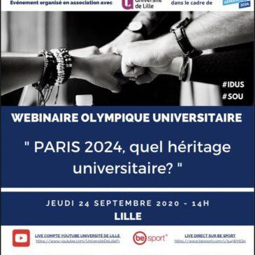 Webinaire Olympique Universitaire
