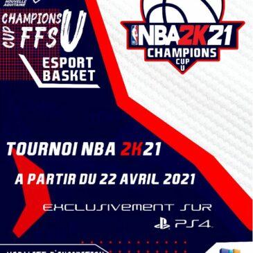 Championnat régional ESPORT NBA 2K21